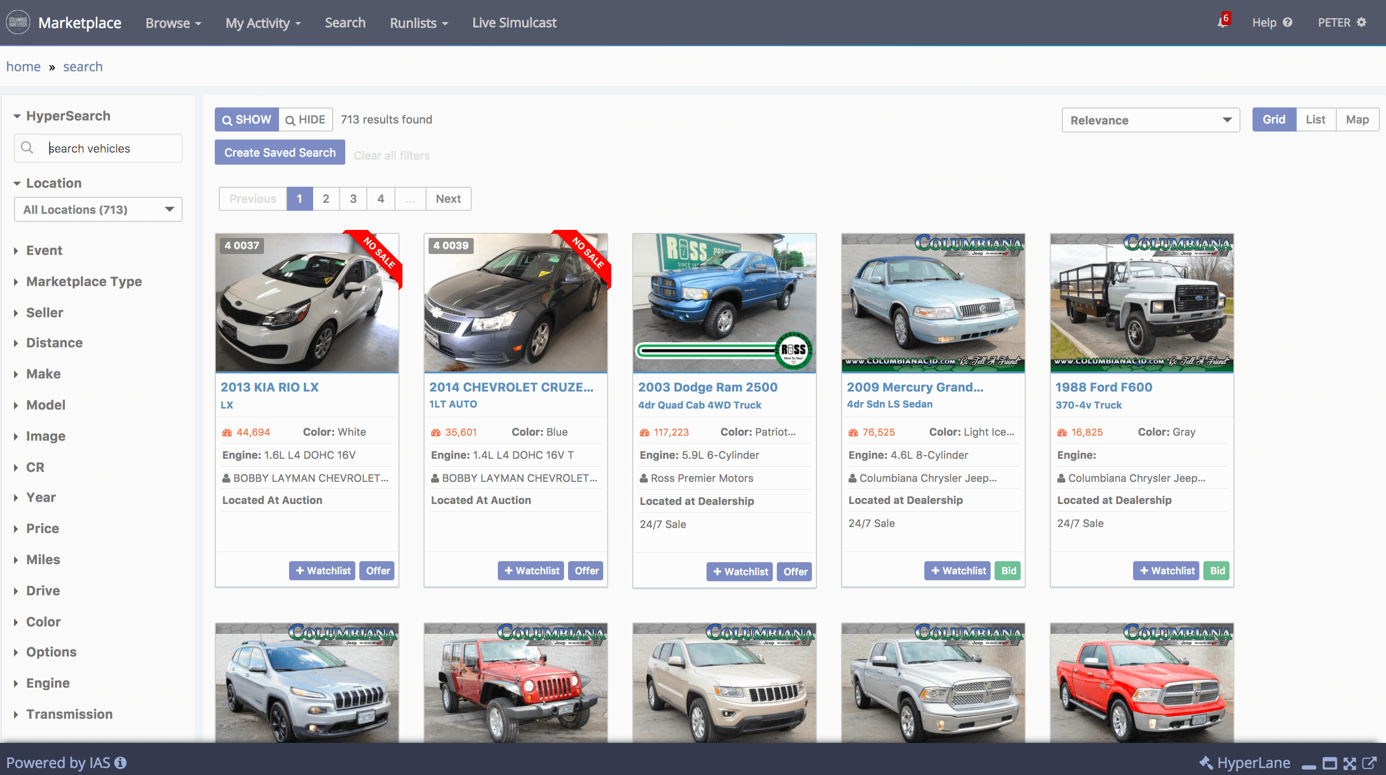 Car Auctions Online >> Ias Marketplace Integrated Auction Solutions